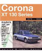 Toyota Corona XT 130 1979 - 1983 Gregorys Owners Service & Repair Manual - Front Cover