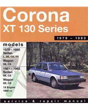 Toyota Corona XT 130 1979 - 1983 Gregorys Owners Service & Repair Manual