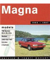 Mitsubishi Magna (TM) 1985 - 1987 Service & Repair Manual