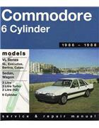 Holden Commodore VL (6 cyl) 1986 - 1988 Gregorys Owners Service & Repair Manual - Front Cover