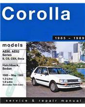 Toyota Corolla AE80 / AE82 FWD 1985 - 1989