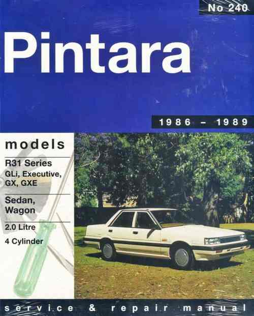 Nissan Pintara R31 1986 - 1989 Gregorys Owners Service & Repair Manual