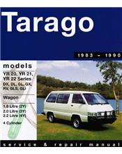 Toyota Tarago 1983 - 1990 Gregorys Owners Service & Repair Manual