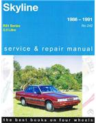 Nissan Skyline R31 1986 - 1991 Gregorys Owners Service & Repair Manual