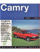 Toyota Camry SV20, SV21 Series 1987 - 1989 - Front Cover