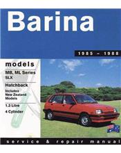Holden Barina MB - ML 1985 - 1988 Gregorys Owners Service & Repair Manual