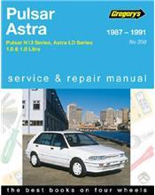 Nissan Pulsar / Vector N13 & Holden Astra LD 1987 - 1991