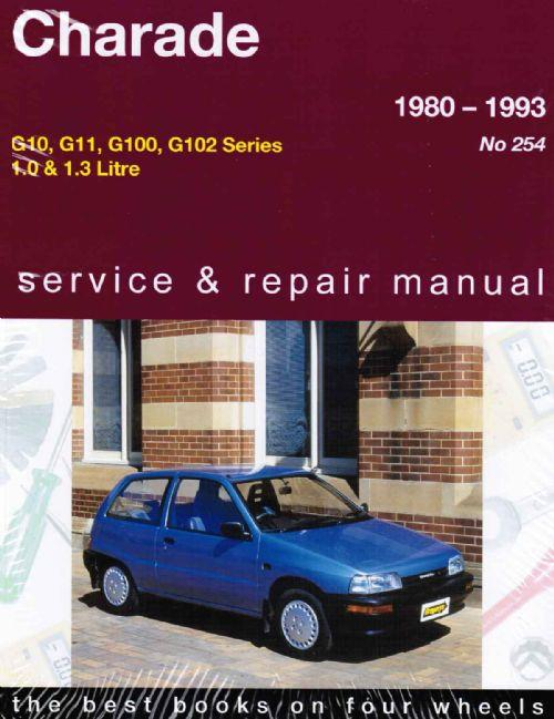 Daihatsu Charade 1980 - 1993 Gregorys Owners Service & Repair Manual