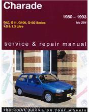 Daihatsu Charade 1980 - 1993 Gregorys Owners Service & Repair Manual