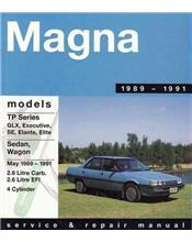 Mitsubishi Magna TP Series 1989 - 1991 Gregorys Owners Service & Repair Manual