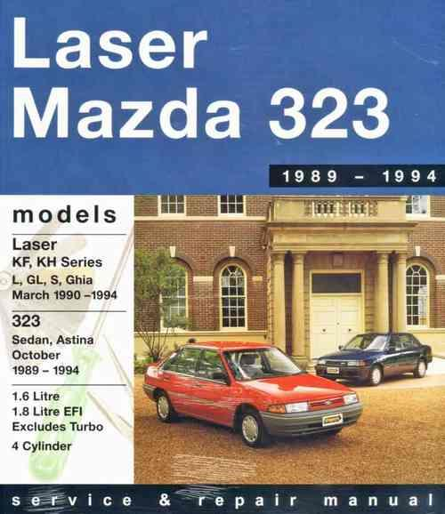 Ford Laser & Mazda 323 / Astina 1989 - 1994 - Front Cover