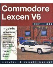 Holden Commodore VP VQ & Toyota Lexcen V6 1991 - 1993