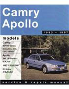Toyota Camry SDV10 & Holden Apollo JM / JP 1993 - 1997 - Front Cover