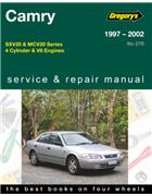 Toyota Camry 1997 - 2002 Gregorys Owners Service & Repair Manual
