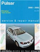 Nissan Pulsar N16 2000 - 2005 Gregorys Owners Service & Repair Manual