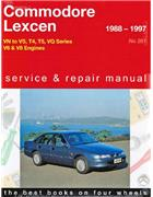 Holden Commodore & Toyota Lexcen VN to VS 1988 - 1997 Service & Repair Manual