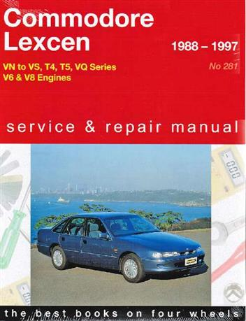Holden Commodore & Toyota Lexcen VN to VS 1988 - 1997 Service & Repair Manual - Front Cover