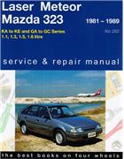Ford Laser Meteor & Mazda 323 1981 - 1989 - Front Cover