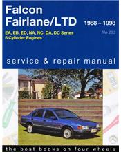 Ford Falcon / Fairlane / LTD 1988 - 1995 Gregorys Owners Service & Repair Manual
