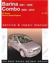 Holden Barina & Combo (Petrol & Diesel) 2001 - 2010