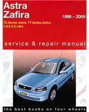 Holden Astra & Zafira TS & TT 1998 - 2005