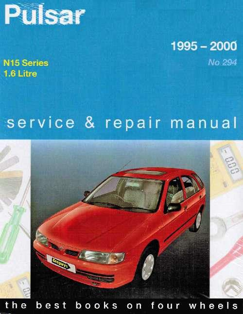 Nissan Pulsar N15 1995 - 2000 Gregorys Owners Service & Repair Manual