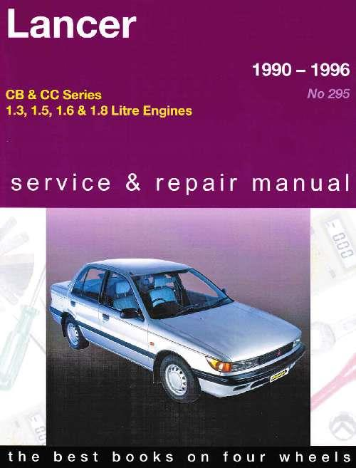 Mitsubishi Lancer 1990 - 1996 Gregorys Owners Service & Repair Manual - Front Cover