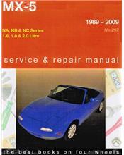 Mazda MX-5 1989 - 2009 Gregorys Owners Service & Repair Manual