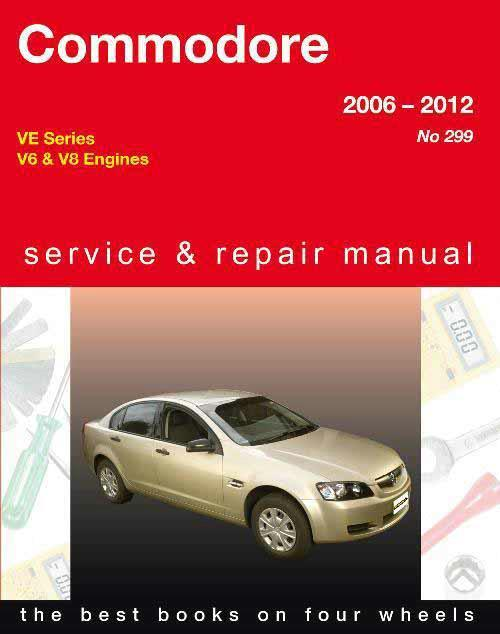 Holden Commodore VE 2006 - 2012 Gregorys Owners Service & Repair Manual - Front Cover