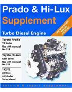 Toyota Prado & Hilux Turbo Diesel Engine Service & Repair Supplement - Front Cover