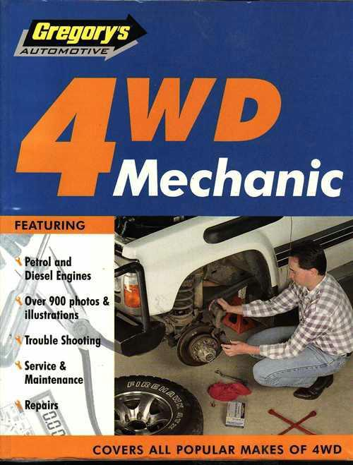 4WD Mechanic : Petrol and Diesel Engines - Front Cover