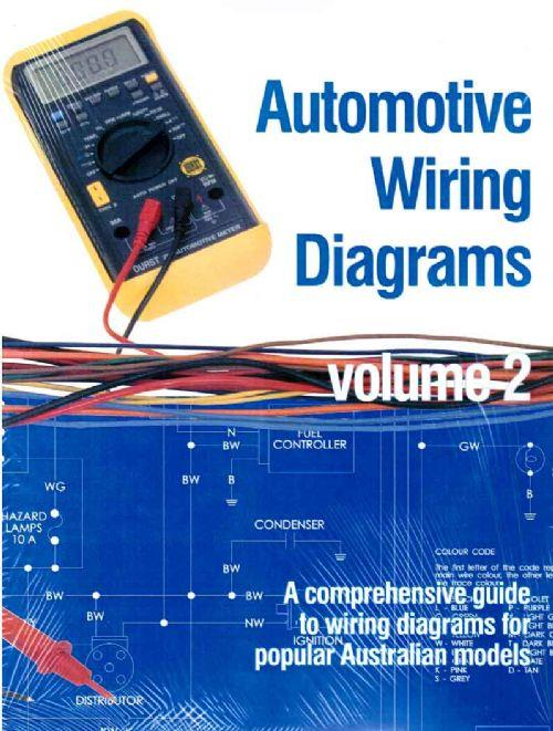 Automotive Wiring Diagrams : Volume 2 (1985 - 1997) - Front Cover