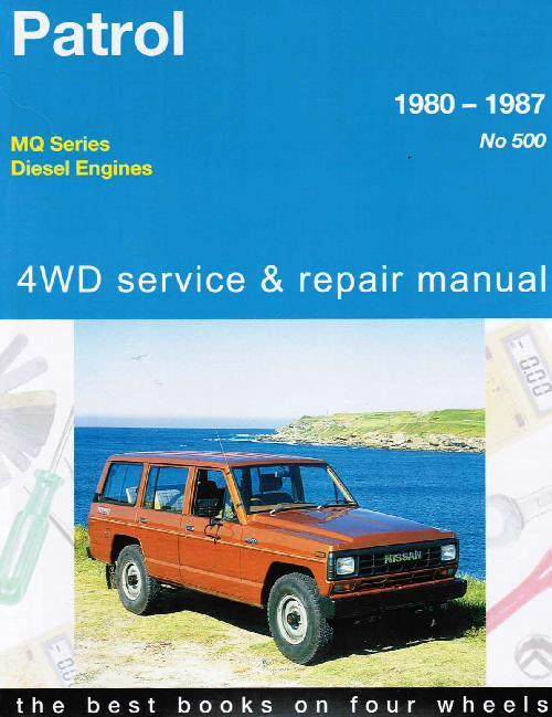 Nissan Patrol MQ Diesel 6 Cylinder 4WD 1980 - 1987 - Front Cover