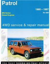 Nissan Patrol MQ Diesel 6 Cylinder 4WD 1980 - 1987