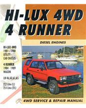 Toyota Hi-Lux 4WD / 4Runner Diesel 1981 - 1989