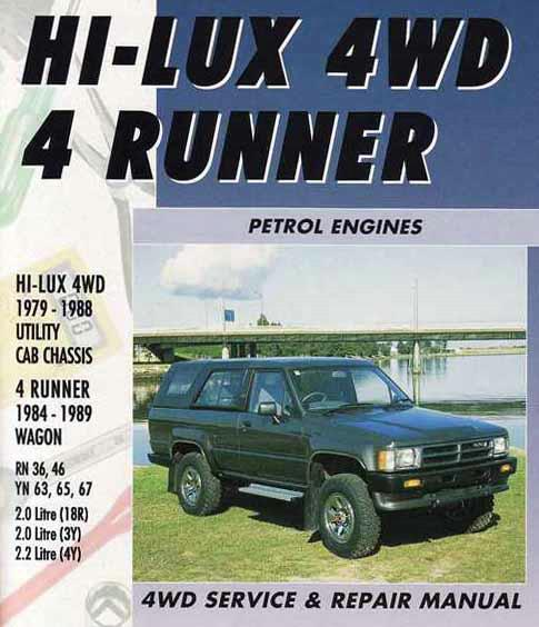 Toyota Hi-Lux 4WD/4Runner Petrol 1979 - 1989