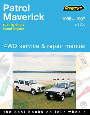 Nissan Patrol (Petrol) & Ford Maverick (Petrol) 4WD 1988 - 1997 - Front Cover
