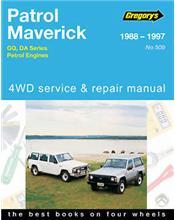 Nissan Patrol (Petrol) & Ford Maverick (Petrol) 4WD 1988 - 1997
