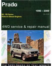 Toyota Land Cruiser Prado 4WD Petrol & Diesel 1996 - 2009