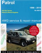 Nissan Patrol Y61 / GU Petrol & Diesel 1998 - 2014 (Petrol models to 2012)