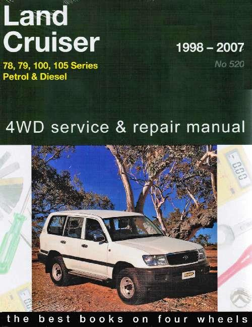 Toyota Land Cruiser 78, 79, 100 & 105 Series 4WD Petrol & Diesel 1998 - 2007 - Front Cover