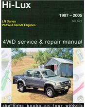 Toyota Hi-Lux 2WD & 4WD LN Series Petrol & Diesel 1997 - 2005