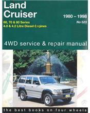 Toyota Landcruiser Diesel 4WD 1980 - 1998