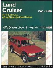 Toyota Land Cruiser 60, 70, 80 Series 1980 - 1998 4WD Service & Repair Manual
