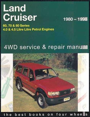 1997 toyota land cruiser owners manual