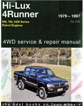 Toyota Hi-Lux & 4Runner Petrol 2WD & 4WD 1979 - 1997 Manual