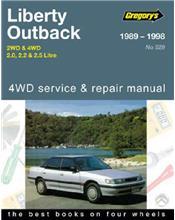 Subaru Liberty / Outback 2WD & 4WD 1989 - 1998
