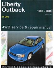 Subaru Liberty & Outback 1998 - 2006 Gregorys Owners Service & Repair Manual