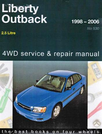 Subaru Liberty & Outback 1998 - 2006 Gregorys Owners Service