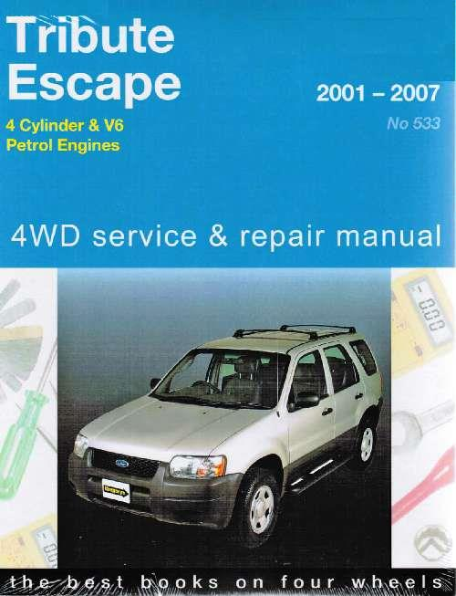Ford Escape & Mazda Tribute 4WD 2001 - 2007 - Front Cover